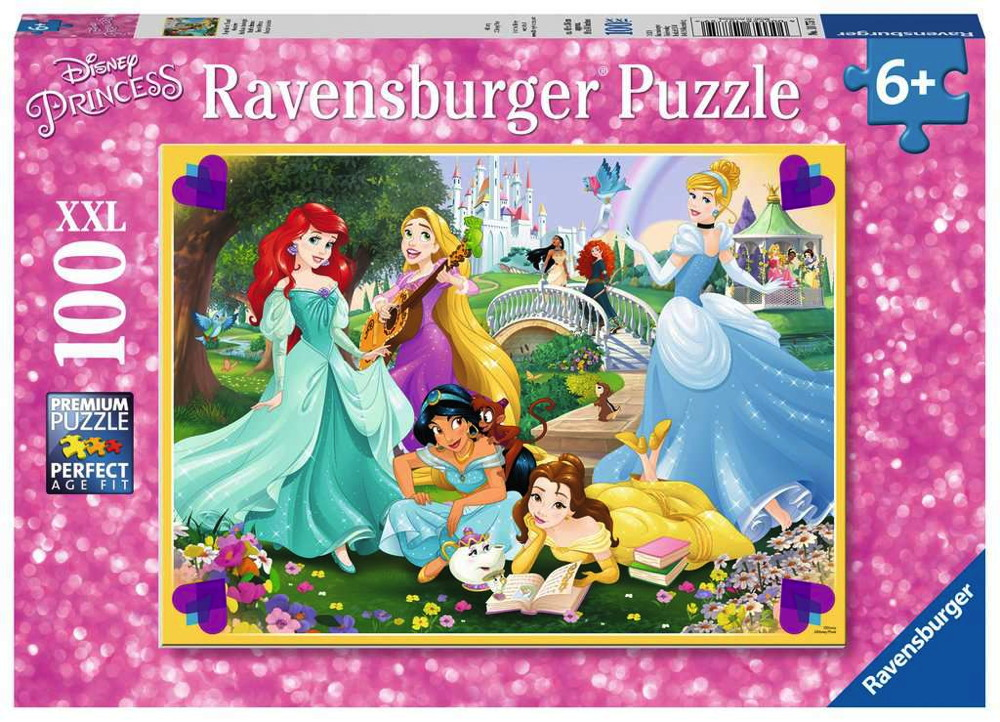 100 Teile Ravensburger Kinder Puzzle XXL Disney Princess Wage deinen Traum! 10775