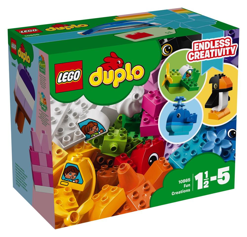 LEGO® DUPLO® Witzige Modelle 70 Teile 10865