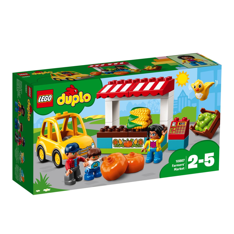 LEGO® DUPLO® Bauernhof Bauernmarkt 26 Teile 10867