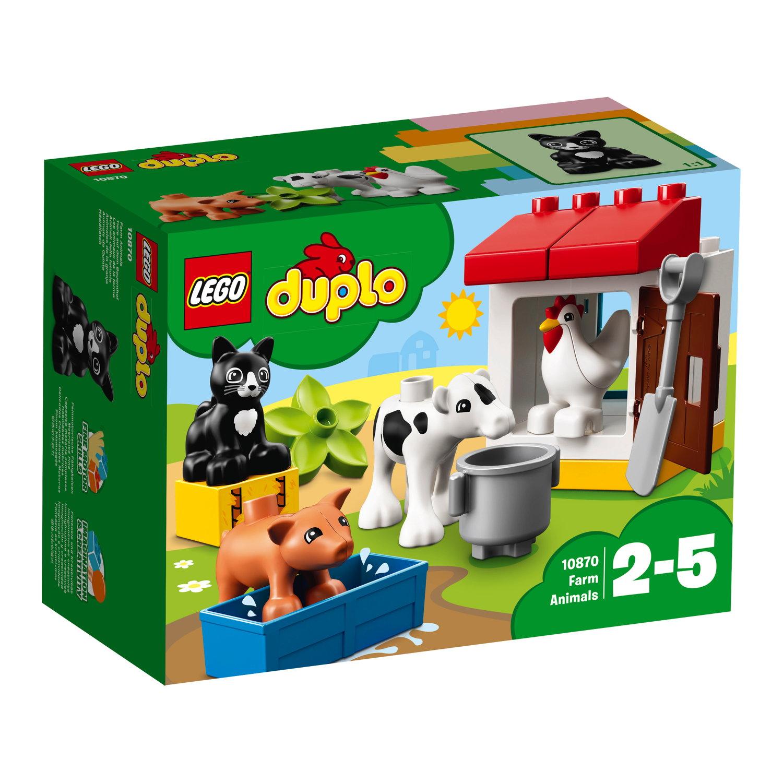LEGO® DUPLO® Bauernhof Tiere auf dem Bauernhof 16 Teile 10870