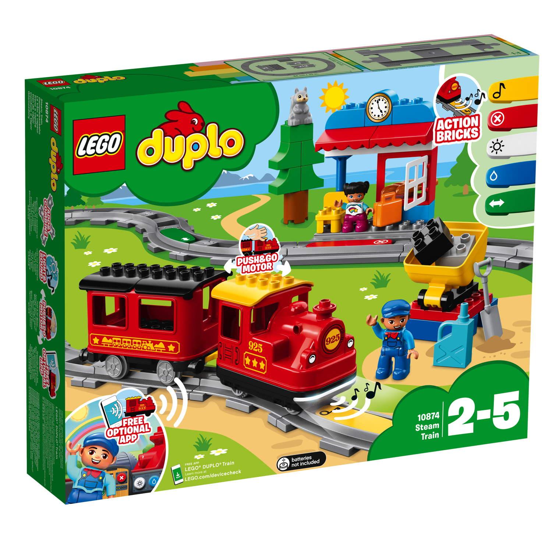 LEGO® DUPLO® Eisenbahn Dampfeisenbahn 59 Teile 10874