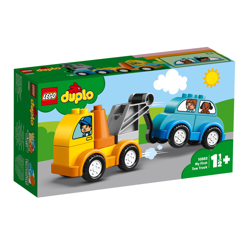 LEGO® DUPLO® Mein erster Abschleppwagen 11 Teile 10883