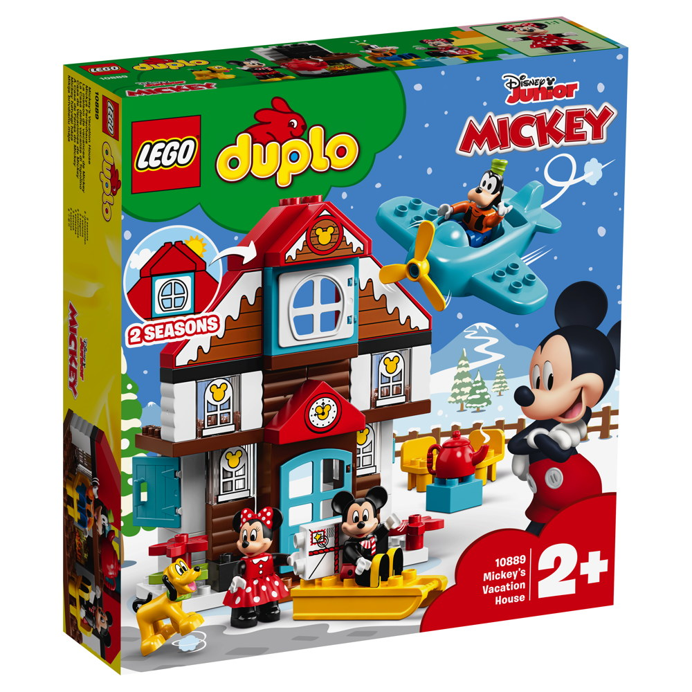LEGO® DUPLO® Mickys Ferienhaus 57 Teile 10889
