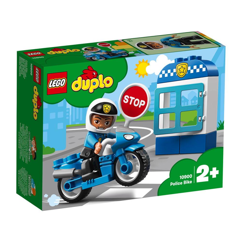 LEGO® DUPLO® Polizei Polizeimotorrad 8 Teile 10900
