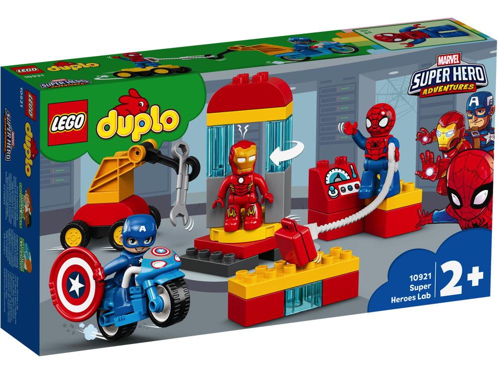 LEGO® DUPLO® Iron Mans Labor-Treffpunkt 30 Teile 10921