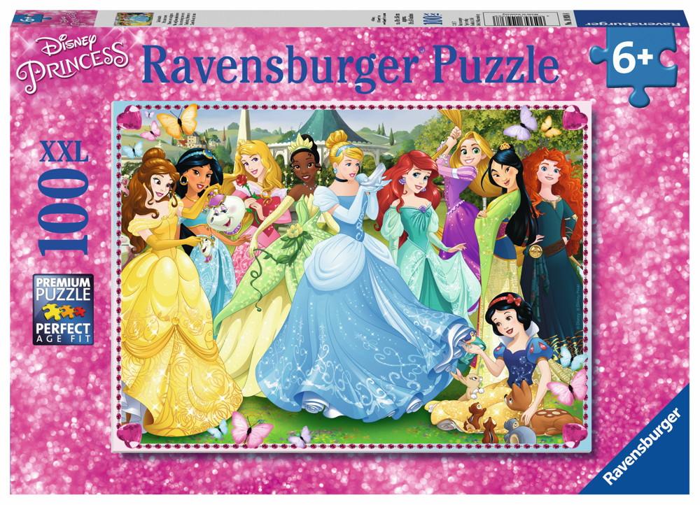 100 Teile Ravensburger Kinder Puzzle XXL Disney Prinzessinnen Zauberhafte Prinzessinnen 10938