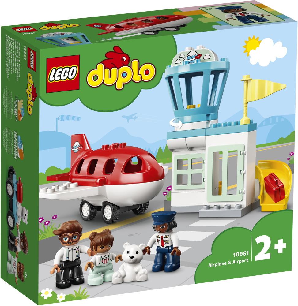 LEGO® DUPLO® Flugzeug & Flughafen 28 Teile 10961