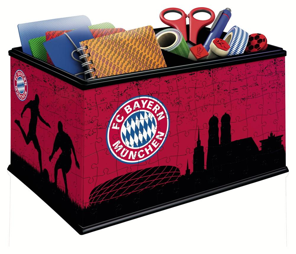 Dimension Spiel Utensilo FC Bayern München 3D Puzzle Erlebe Puzzeln in der 3