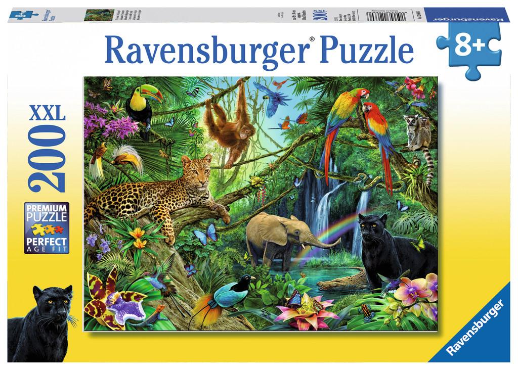 200 Teile Ravensburger Kinder Puzzle XXL Tiere im
