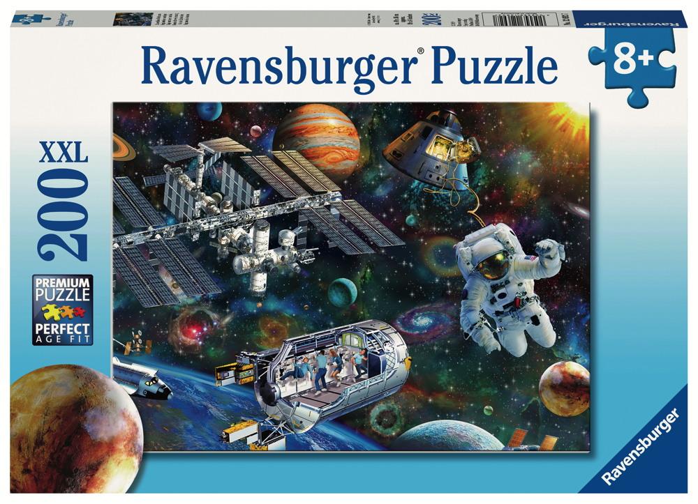 200 Teile Ravensburger Kinder Puzzle XXL Expedition Weltraum 12692