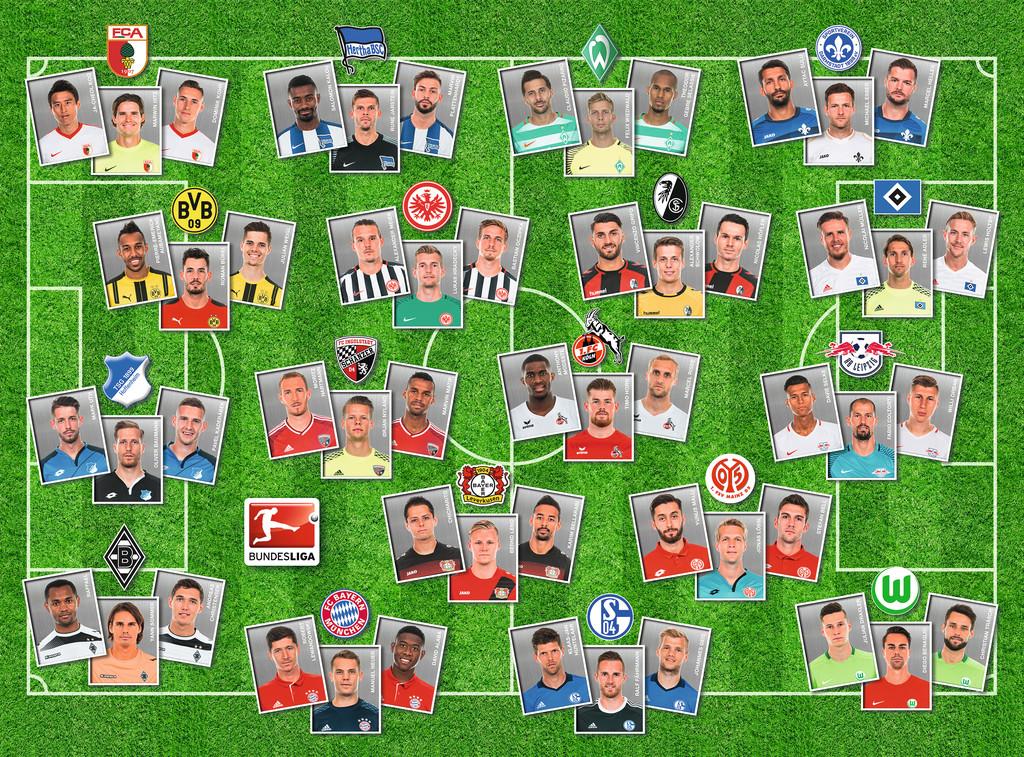 300 Teile Ravensburger Kinder Puzzle Xxl Bundesliga Puzzle 13212