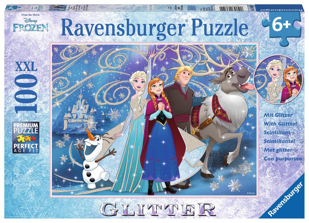 Ravensburger Puzzle 100XXL Glitter Schneewittchen Puzzles
