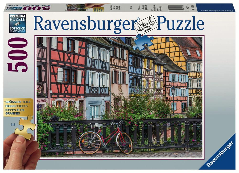 500 Teile Ravensburger Puzzle Gold Edition Colmar in Frankreich 13711