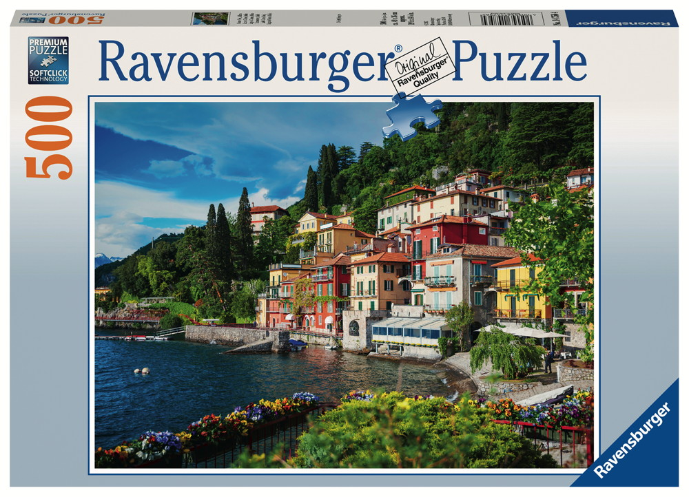 500 Teile Ravensburger Puzzle Comer See, Italien 14756