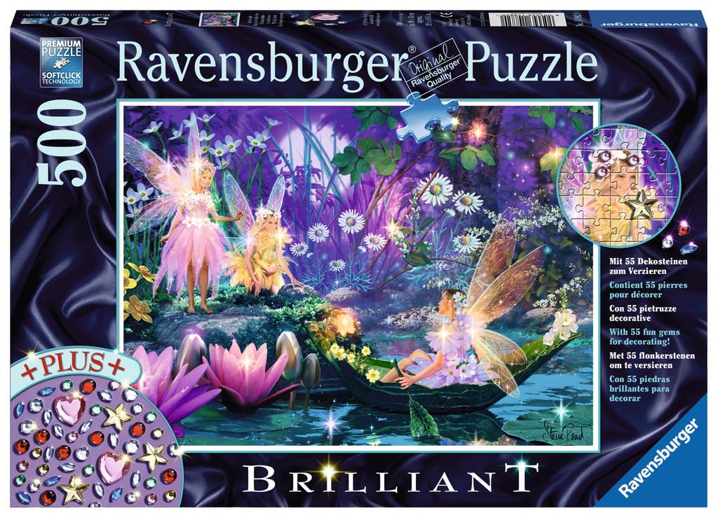 500 Teile Ravensburger Puzzle Brilliant Im Feenwald 14882
