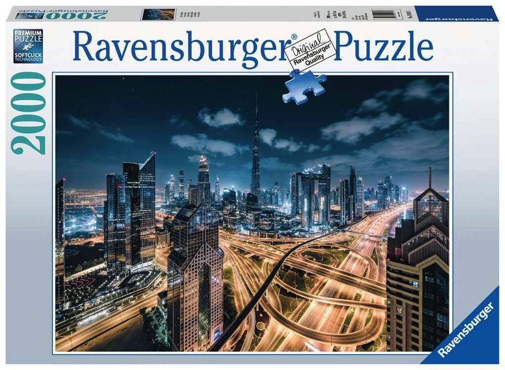 2000 Teile Ravensburger Puzzle Sicht auf Dubai 15017