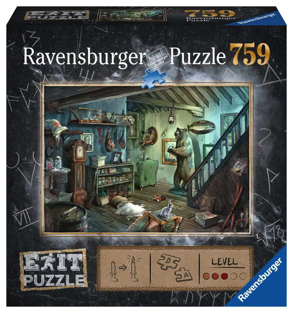 759 Teile Ravensburger Puzzle Exit 8: Im Gruselkeller 15029