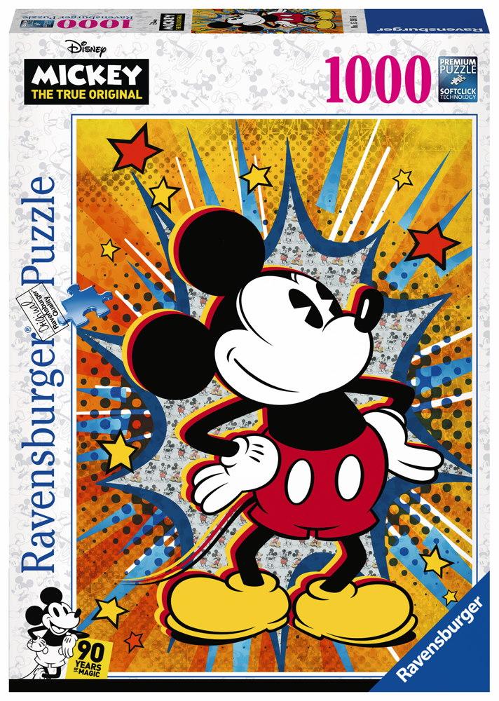 1000 Teile Ravensburger Puzzle Disney Retro Mickey 15391