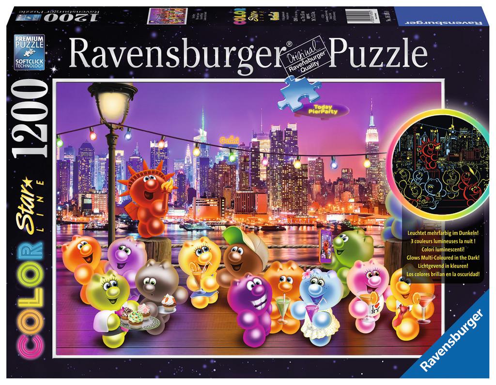 Gelini Puzzle Küche   1200 Teile Ravensburger Puzzle Star Line Leuchtet Im Dunkeln Gelini