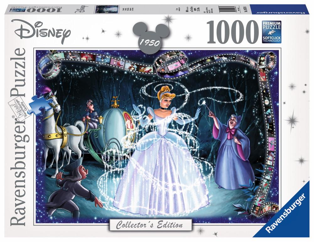 1000 Teile Ravensburger Puzzle Disney Collector's Edition Cinderella 19678
