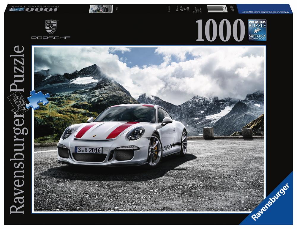 1000 Teile Ravensburger Puzzle Porsche 911R 19897
