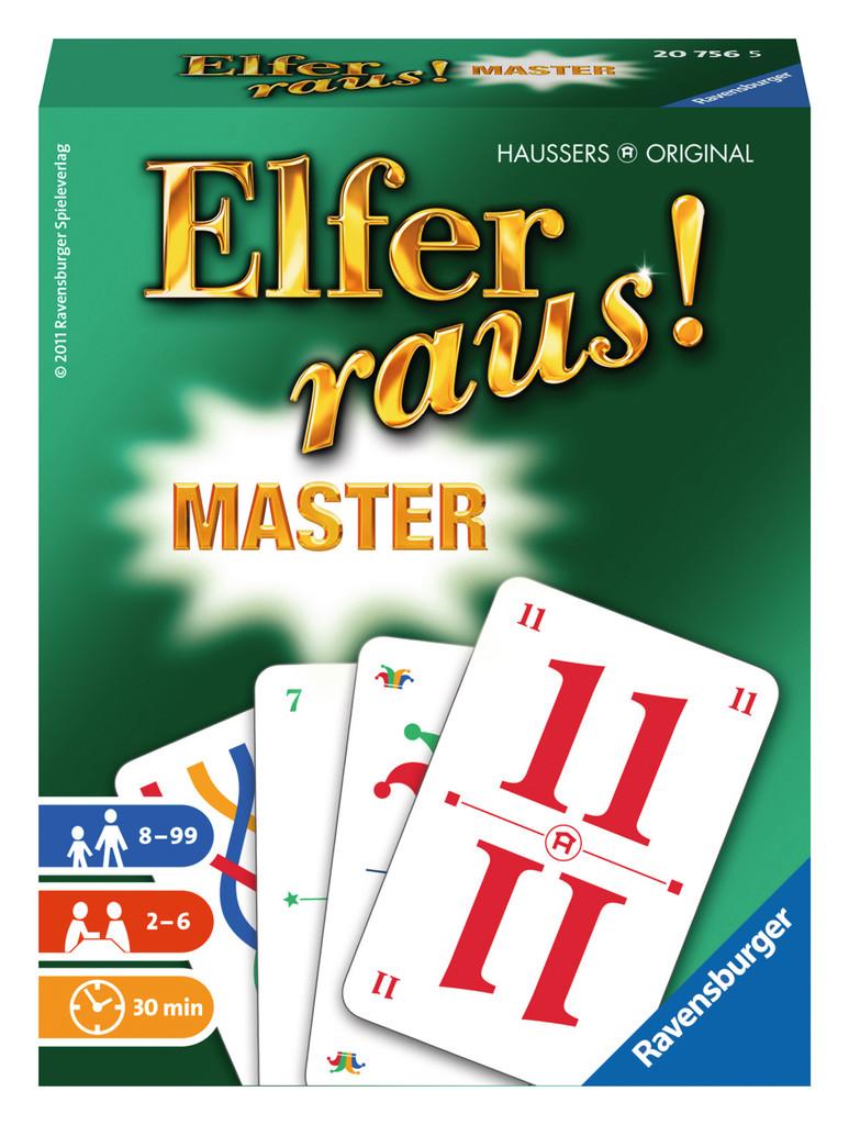 Elfer Raus Master Spielanleitung