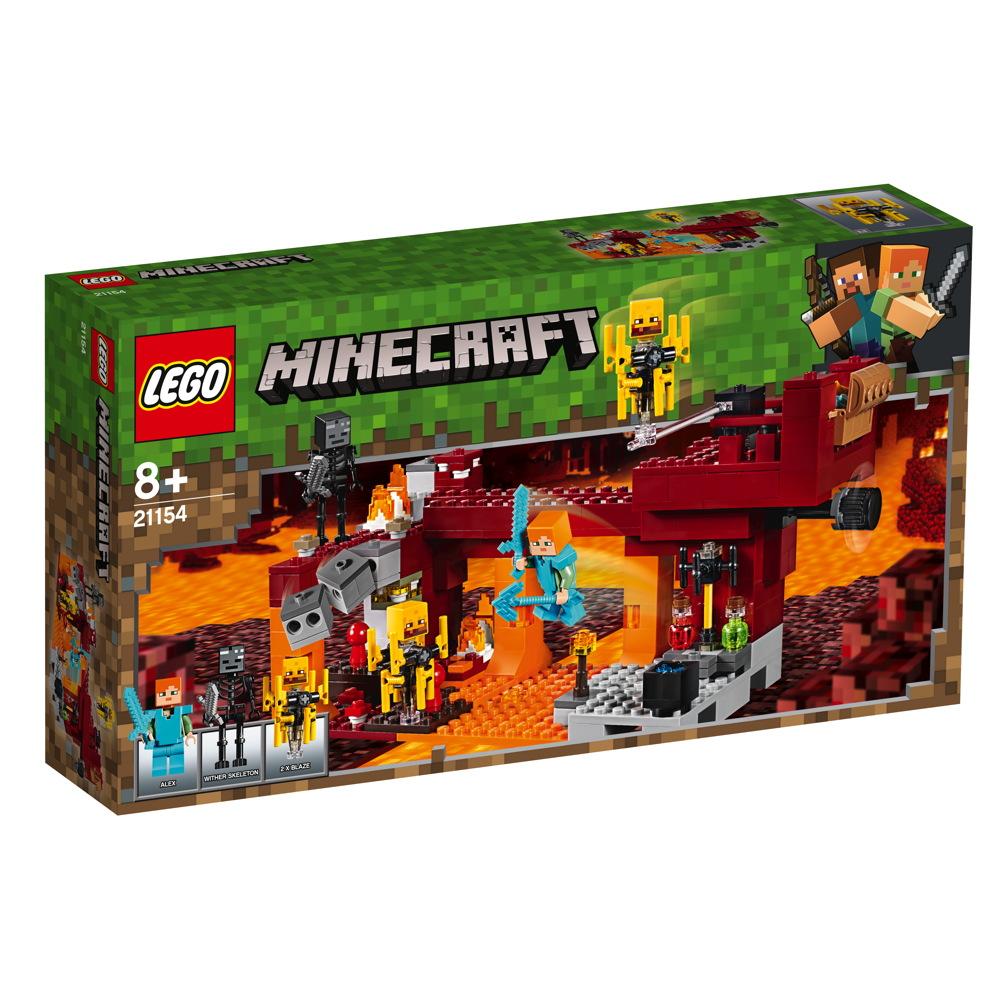 LEGO® Minecraft™ Die Brücke 372 Teile 21154