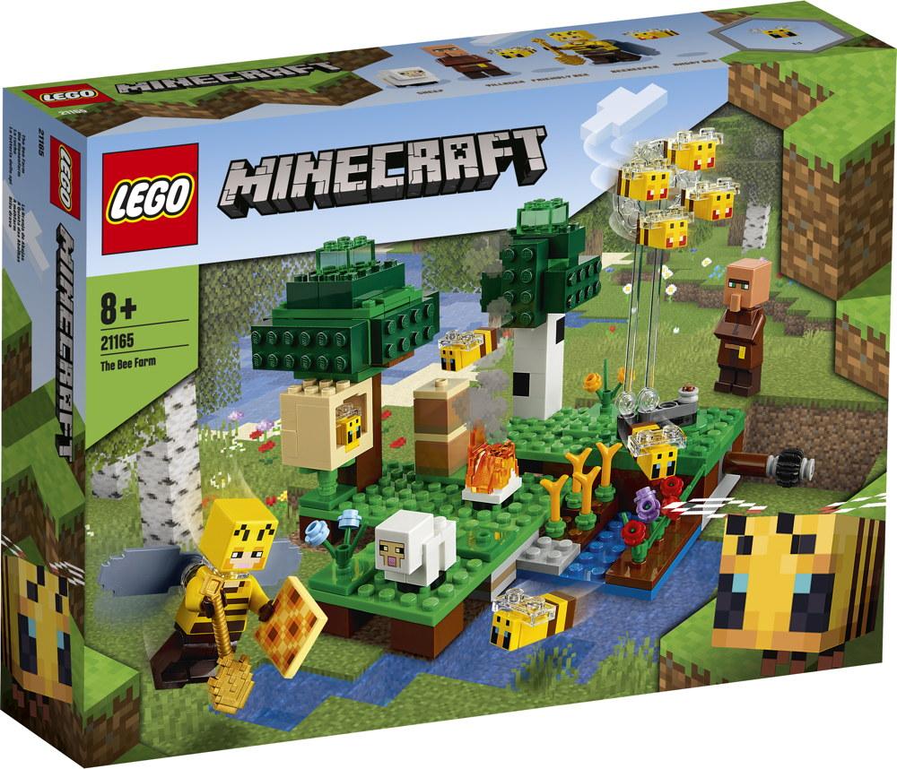 LEGO® Minecraft™ Die Bienenfarm 238 Teile 21165