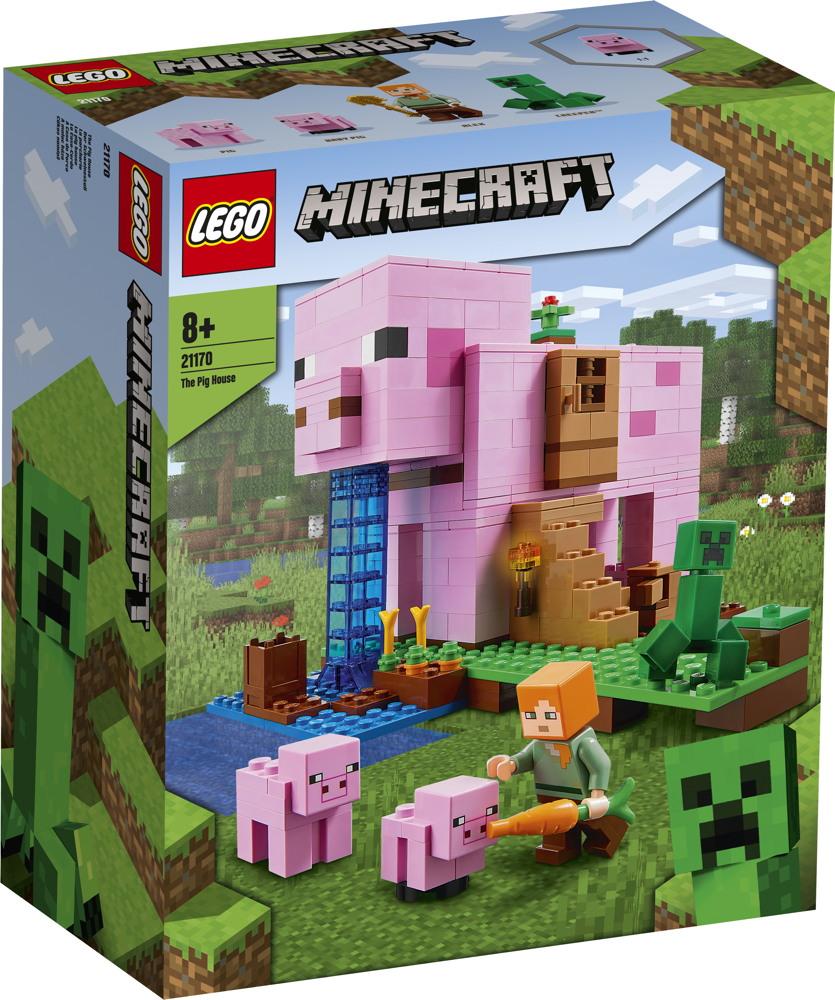 LEGO® Minecraft™ Das Schweinehaus 490 Teile 21170