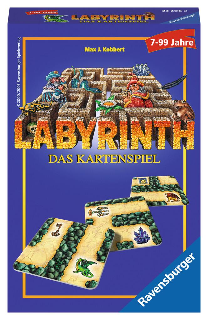 Ravensburger Mitbringspiel Kartenspiel Labyrinth Das Kartenspiel 23206