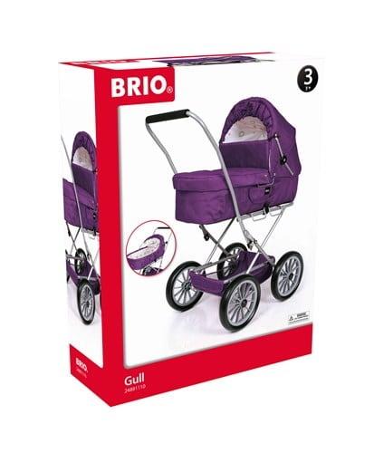 Brio Spielzeug Rollenspiel Puppenwagen Gull violett 63891110