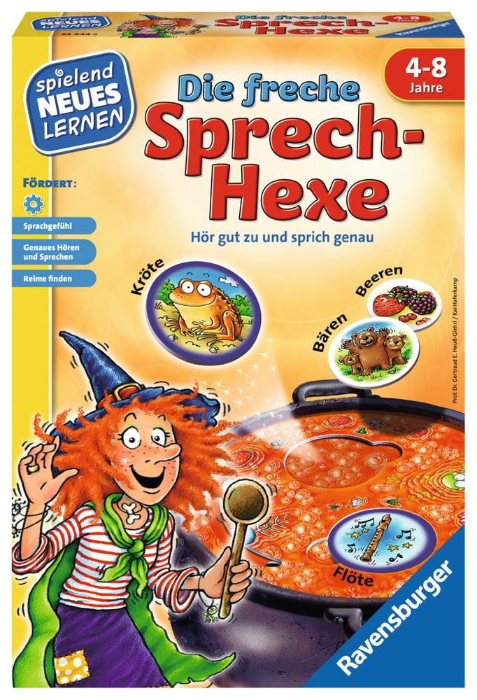 Ravensburger Spielend Neues Lernen Sprachförderspiel Die freche Sprech-Hexe 24944