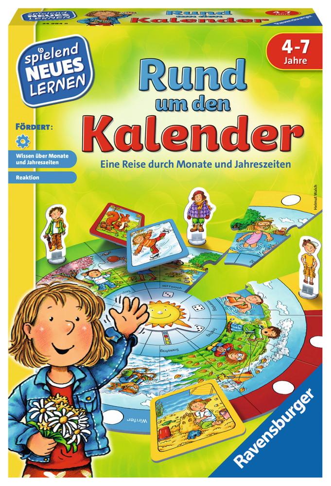 Ravensburger Spielend Neues Lernen Natur-Lernspiel Rund um den Kalender 24984
