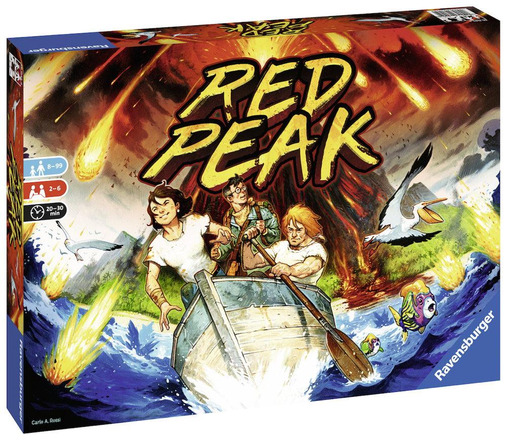 Ravensburger Familienspiel Familienspiel Wettlaufspiel Red Peak 26045
