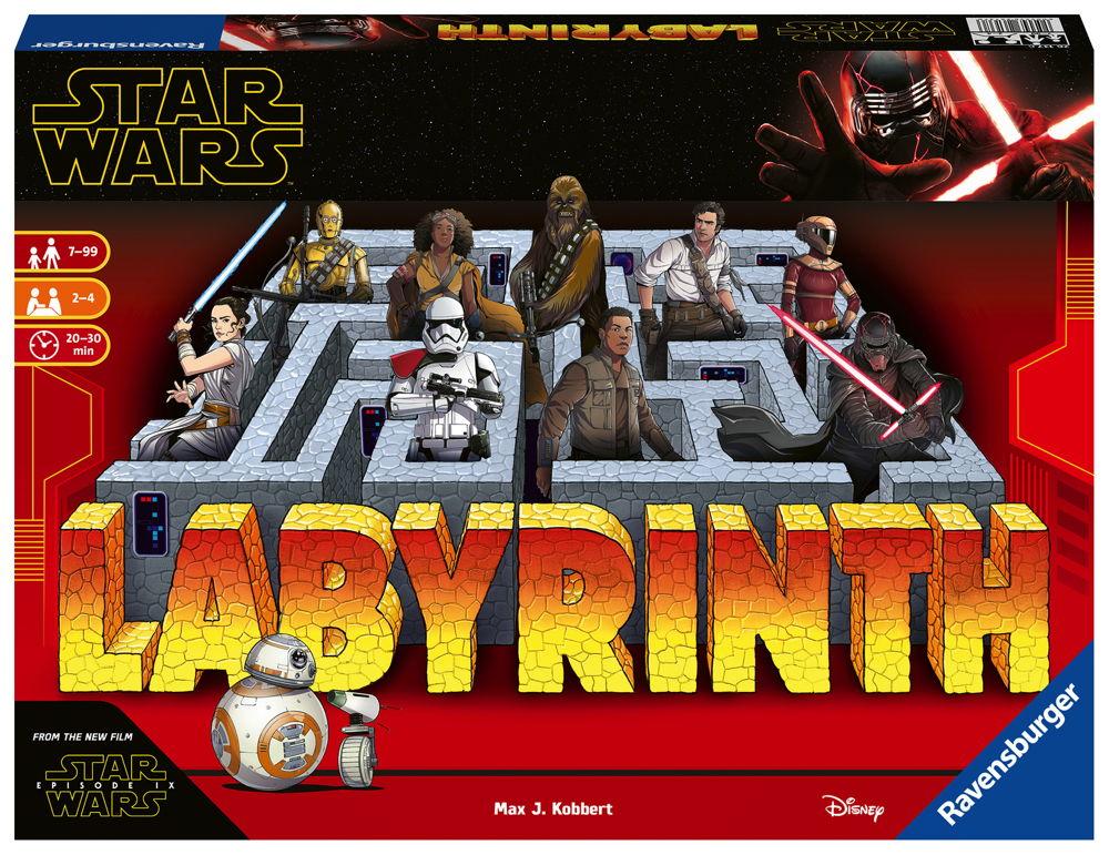 Ravensburger Familienspiel Legekartenspiel Star Wars IX Labyrinth 26137