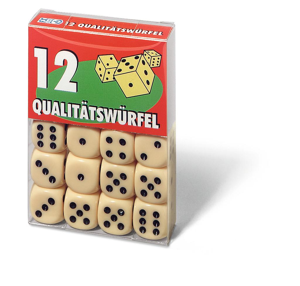 12 Ravensburger FX Schmid Würfel in Klarsichtbox 27097