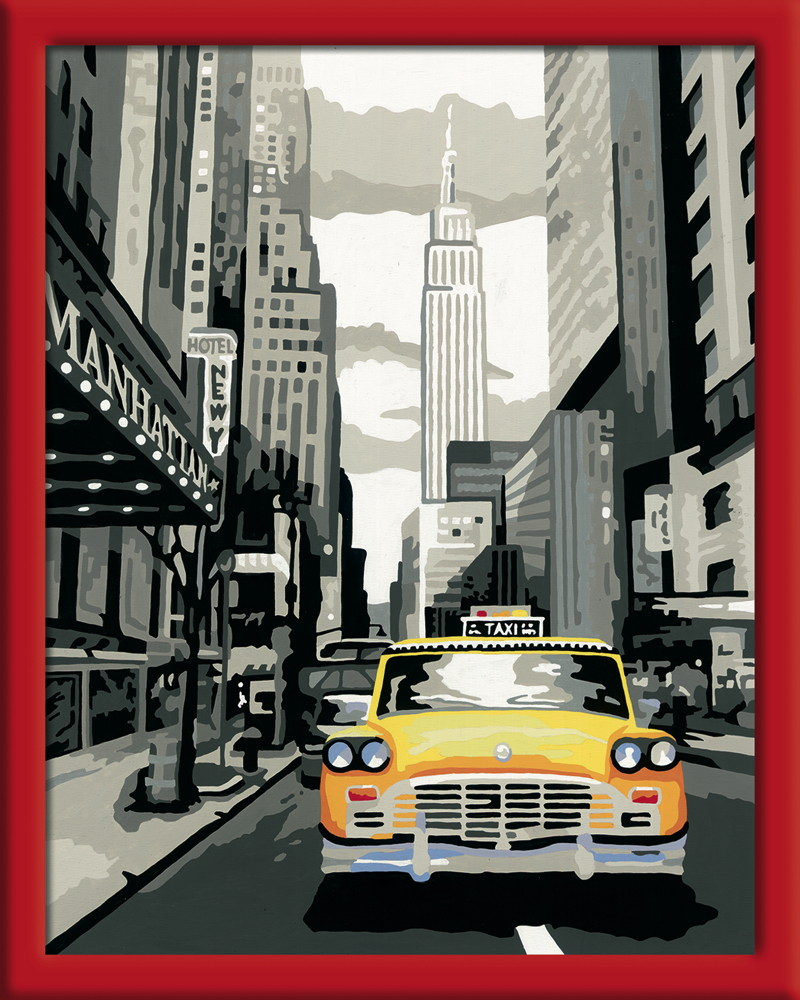 Ravensburger Malen Nach Zahlen Trend Serie C New York City 28443