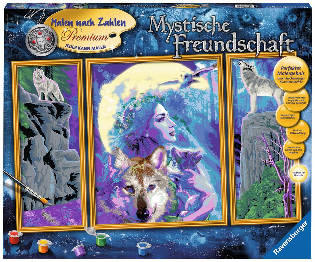 Ravensburger Malen Nach Zahlen Premium Serie A Mystische Freundschaft 28960