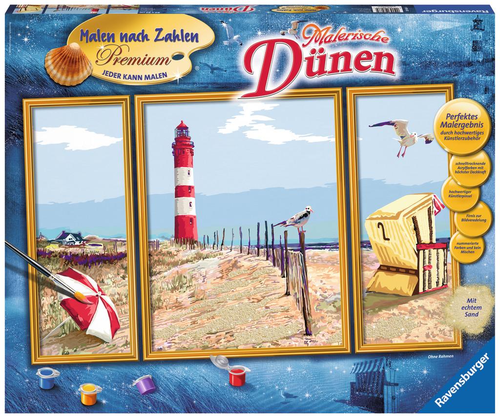 Ravensburger Malen Nach Zahlen Premium Serie A Malerische Dünen 28968
