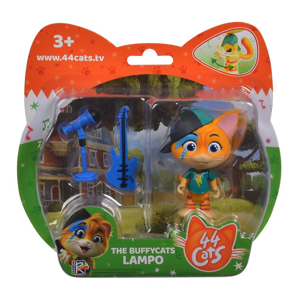 Smoby Spielwelten Spielfigur 44 CATS Lampo mit Gitarre 7,7 cm 7600180110