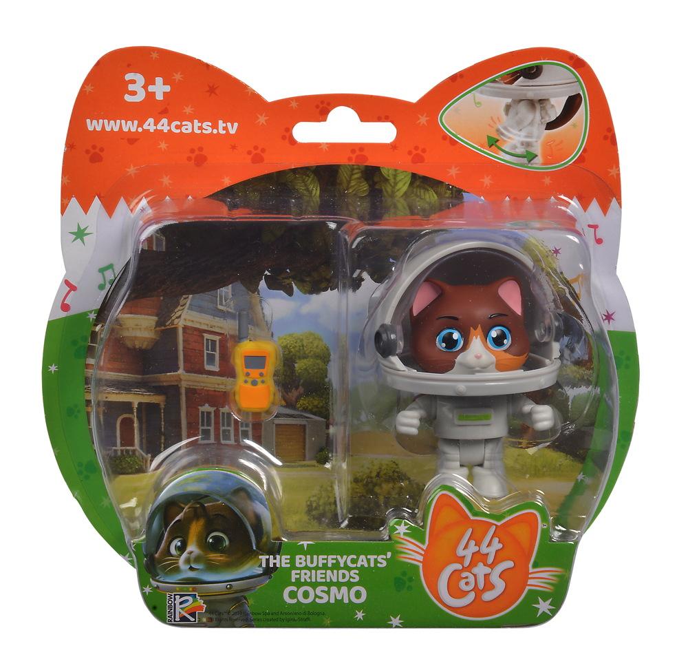 Smoby Spielwelten Spielfigur 44 CATS Cosmo mit Raumanzug 7,7 cm 7600180114