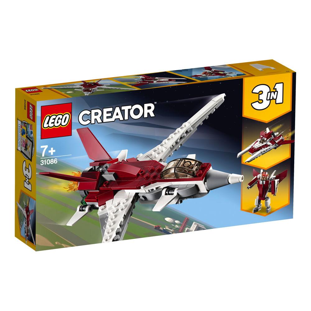 LEGO® Creator Flugzeug der Zukunft 157 Teile 31086