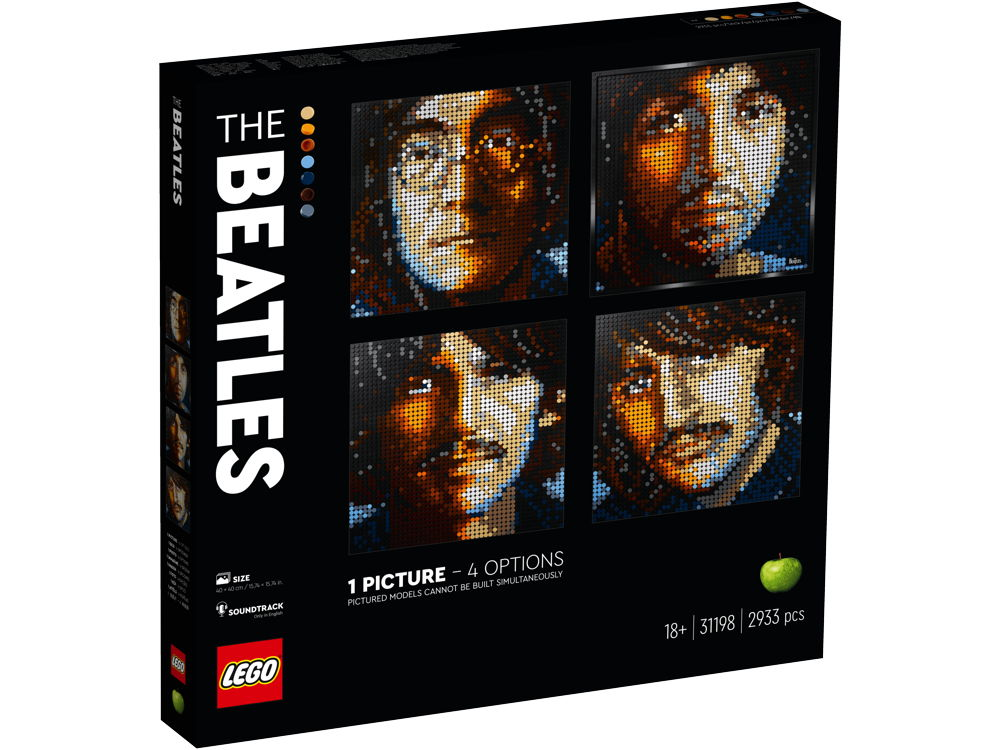LEGO® Art The Beatles 2933 Teile 31198