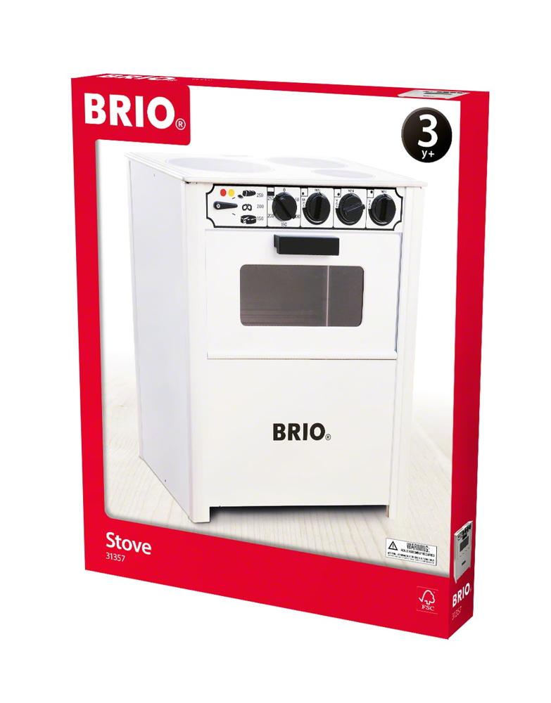 Brio Spielwelten Küche Herd weiß 31357