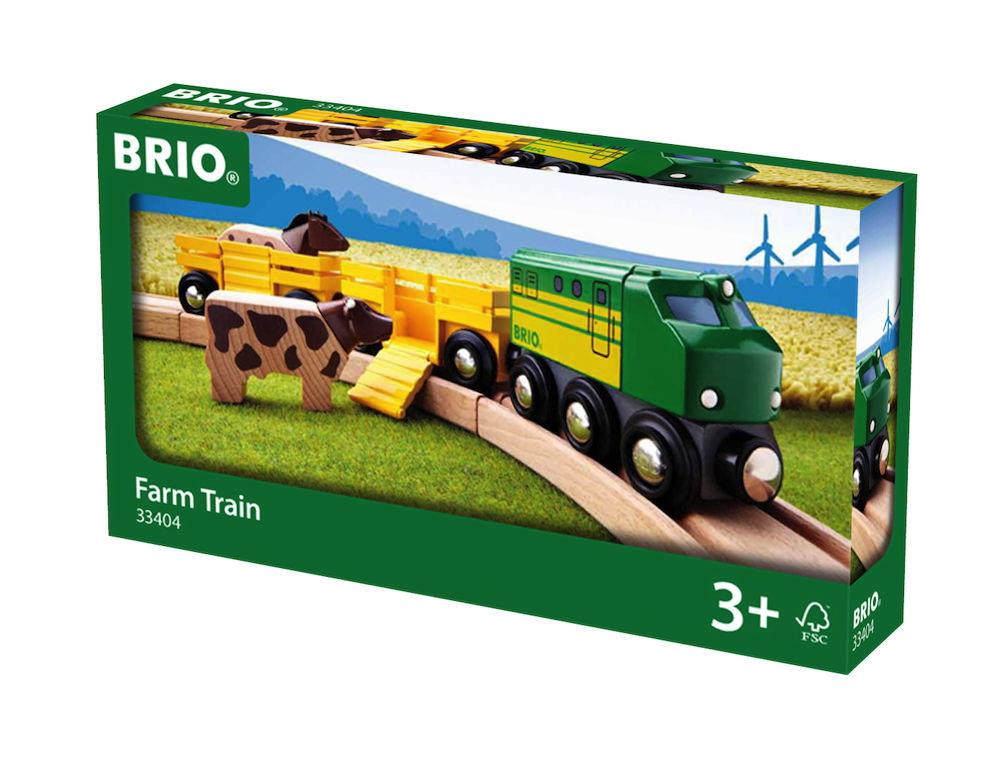 Brio World Eisenbahn Zug Bauernhof Zug 5 Teile 33404