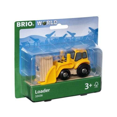 Brio World Eisenbahn Fahrzeug Frontlader 33436