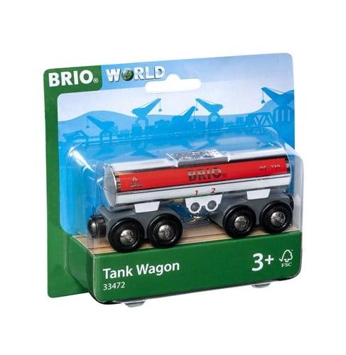 Brio World Eisenbahn Fahrzeug Tankwagen silber 33472
