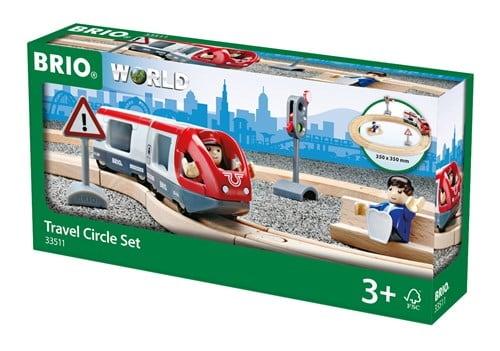 Brio World Eisenbahn Set Bahn Starter Set Personenzug 15 Teile 33511