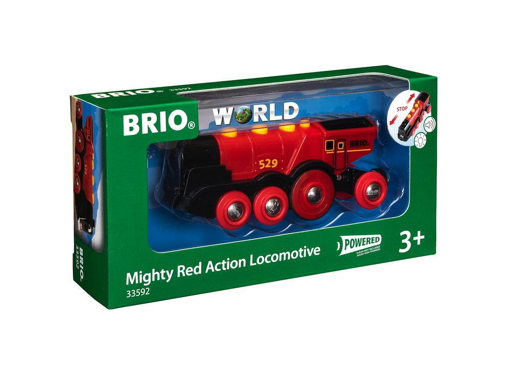 Brio World Eisenbahn Lok Rote Lola Batterielok 33592