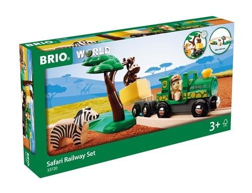 Brio World Eisenbahn Set Safari Bahn Set 17 Teile 33720